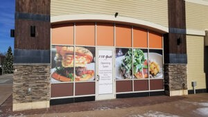 full window graphics by Seamless Wraps